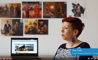 photo preview of the Europeana education video about the Teaching with Europeana blog