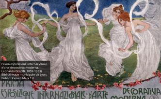 LS-PT-77 art nouveau, mathematics and art