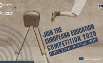 Official visual of the Europeana Education Competition 2020